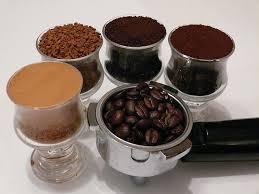 Kaffe typer